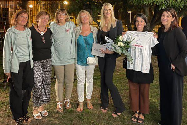 Presentazione monumento dedicato a Linea Rosa